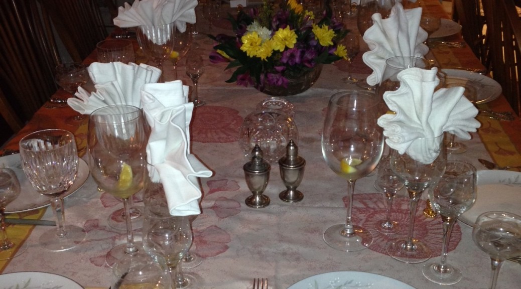 GWCTD Table Setting