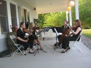 live music by quartet 442.